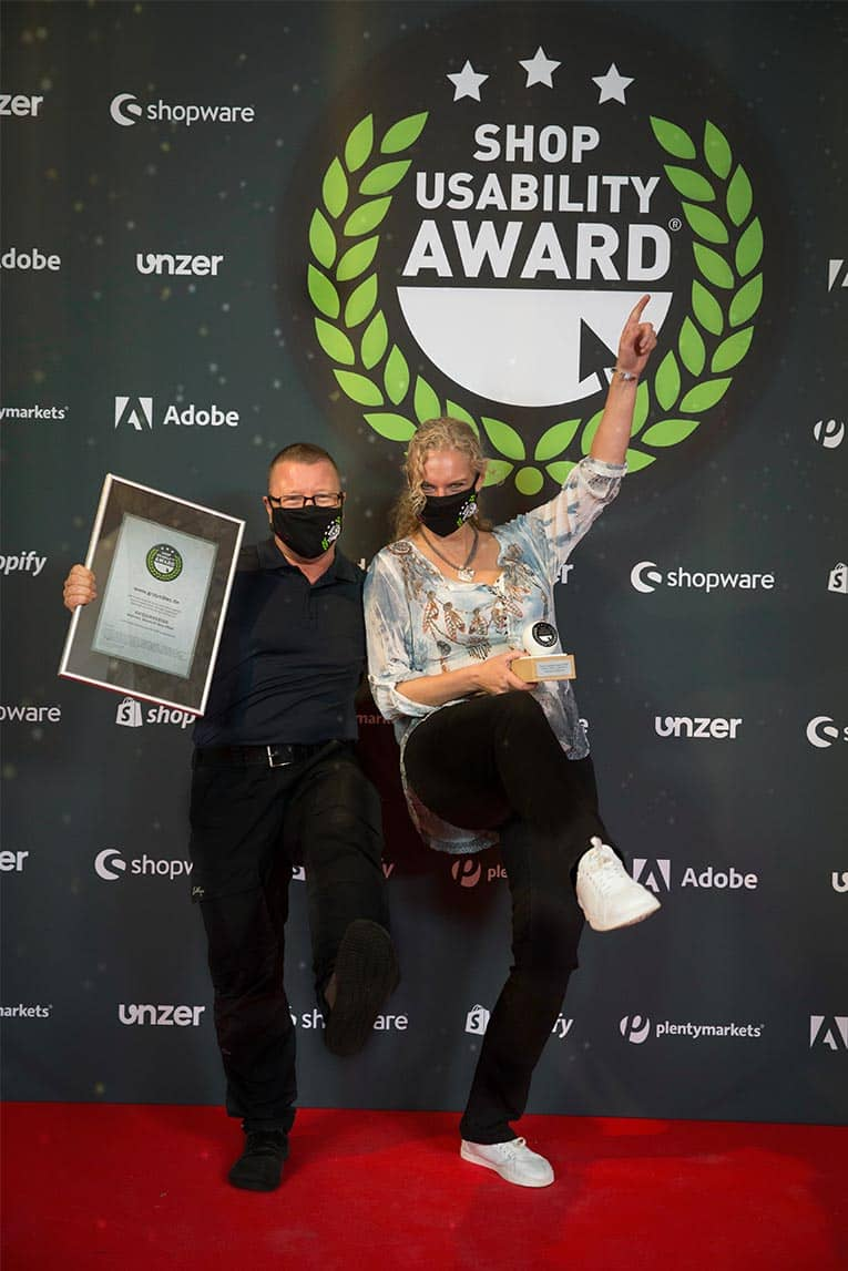 GROUNDIES® wins the USABILITY AWARD 2020