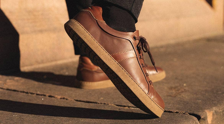 Minimalismo de lujo: las zapatillas de cuero minimalistas Monaco GS1