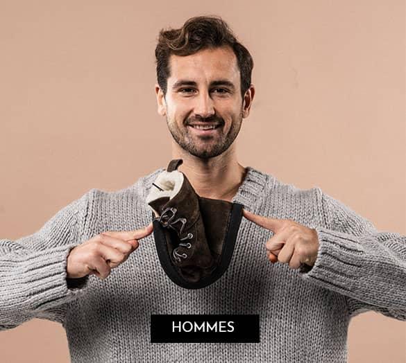 GROUNDIES chaussures aux pieds nus pour hommes